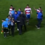 Granada&#8217;s Dani Benitez Pelts Referee In Face With Gatorade Bottle vs Real Madrid (Video)
