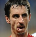 Gary Neville Enjoys Another Epic Scoregasm Over Drogba's Goal vs Bayern Munich (Video)