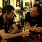 Sandro Reveals Unlikely Darts Obsession, Gets Pointers From New Pal Bobby George