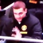 Nemanja Vidic Accidentally Headbutts Metal Rail, Apologises To It (Video)