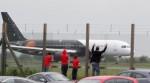 Soccer - England Team Departure - Luton Airport
