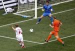 Soccer Euro 2012 The Netherlands Denmark