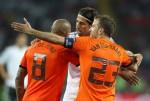 Soccer - UEFA Euro 2012 - Group B - Netherlands v Germany - Metalist Stadium