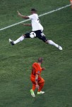 Soccer Euro 2012 The Netherlands Germany