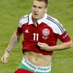 Euro 2012: Nicklas Bendtner Given Ludicrous £80k Fine For 'Paddy Power' Pants Plug