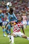 Soccer Euro 2012 Croatia Spain