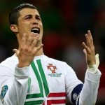 Euro 2012 Photos: Messi Steals Ronaldo's Thunder From 1,000 Miles Away