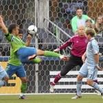 Seattle Sounders' Patrick Ianni Scores Sumptuous Scissor Volley vs Sporting KC (Video)