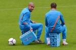 Soccer Euro 2012 Training Netherlands