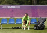 Soccer Euro 2012 Training Portugal
