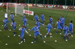 Soccer Euro 2012 Training Greece