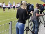 Soccer Euro 2012 Training Denmark