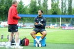 Soccer - UEFA Euro 2012 - Group D - England v Sweden - England Training Session - Stadion Suche Stawy