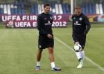 Soccer Euro 2012 Training England