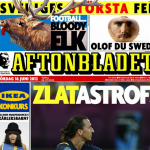 Euro 2012: Daily Mirror & Swedish Paper Aftonbladet Wage War Over Spoof 'England vs Sweden' Front Pages (Photos)
