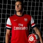 'Very Proud To Be A Gunner' – Olivier Giroud Completes £12m Arsenal Move (First Photo)