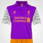 Gruesome New Liverpool 2012/13 Third Kit Leaked – Purple Monstrosity Lives! (Photo)