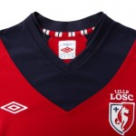 New Umbro LOSC Lille 2012/13 Home & Away Shirts Are Things Of Pure Beauty! (Photos)