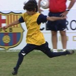 11-Year-Old Boy Born Without Feet Fulfills Lifelong Dream, Invited To Train With Barcelona (Video)