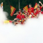 Spain And Thousands Of Their Closest Friends Celebrate Euro 2012 Triumph In Cibeles Square (Photos)