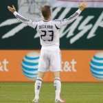 David Beckham Scores Couple Of Absolute Beauts vs Portland Timbers (Video)
