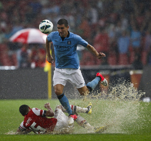 Chelsea Transfer News Lucas Moura Meeting Chinese: Man City Beat Arsenal 2-0 In A Rain