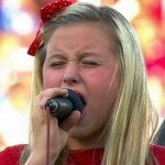 10-Year Old Singer Completely Butchers US National Anthem Before FC Dallas vs LA Galaxy (Video)