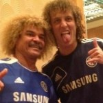 Horror Hair: The 'When David Luiz Met Carlos Valderrama' Crimp Overload (Photo)