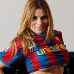 Spanish Pornstar Hopes Naff Music Video Will Get Former Barcelona President Joan Laporta Re-Elected (Video)