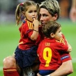 Football GIFs: Tiny Spanish Sprogs Invade Pitch After Euro 2012 Final