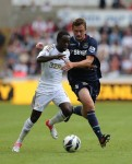 Soccer - Barclays Premier League - Swansea City v West Ham United - Liberty Stadium