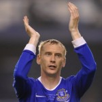 Tony Hibbert Finally Scores First Everton Goal, Goodison Park Erupts! (Video)