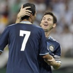 Struck By An Angel: Di Maria Scores Cracker As Argentina Stroll to 3-1 Win Against Germany (Video)
