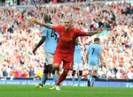 Soccer - Barclays Premier League - Liverpool v Manchester City - Anfield