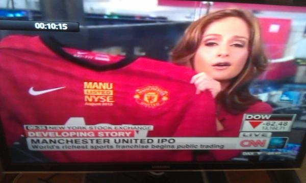 Shit Football Kits Glazers Hand Out Specially Embroidered