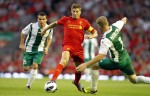 Soccer - UEFA Europa League - Third Round Qualifying - Second Leg - Liverpool v Gomel - Anfield