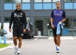 Soccer - Barclays Premier League - Manchester City Training and Press Conference - Carrington Training Ground