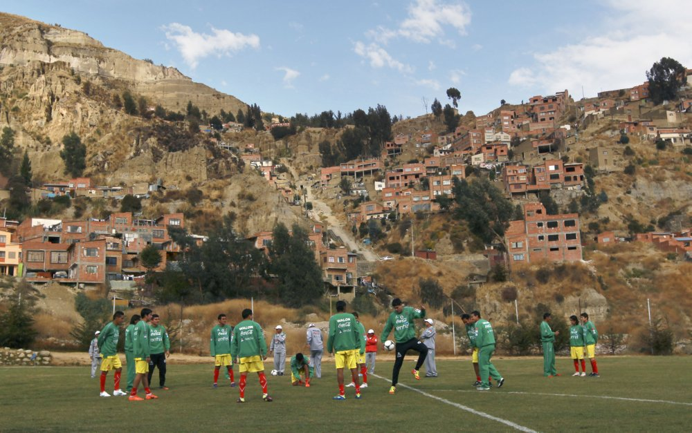 Bolivia Soccer Wcup 187 Who Ate All The Pies