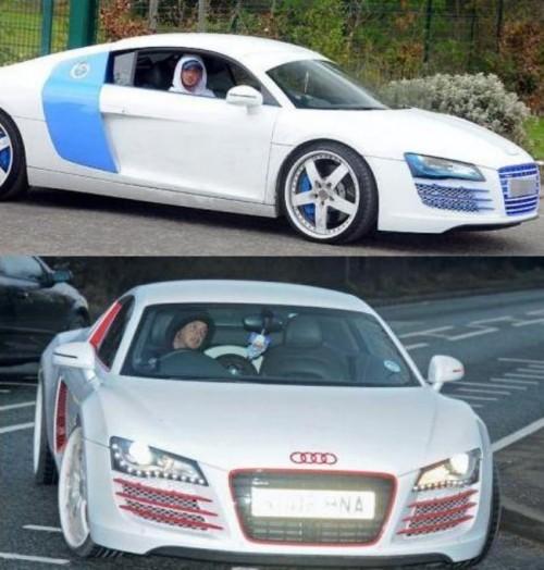 Bentley Gtc Convertible He He He: 15 Spectacularly Craptacular Footballers' Cars