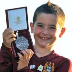 &#8216;It&#8217;s Made Me Feel Super!&#8217; &#8211; Seven-Year Old Man City Fan Vows To Turn Down 1m For Ashley Cole&#8217;s Community Shield Medal