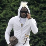 Horror Hair: Mario Balotelli Has Mohawk Grafted Onto Hoodie For 'Fringed Dork' Look