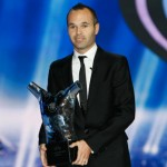 Andrés Iniesta Named 'UEFA Best Player In Europe' Ahead Of Messi And Ronaldo