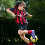AC Milan Sign Up 10-Year Old Scottish Girl After Holiday Kick-About In Spain