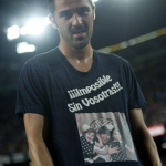 David Villa Fined 3,000 For &#8216;Impossible Without You&#8217; T-Shirt Message