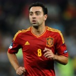 Xavi Picks Out 'Postage Stamp' With Gorgeous Freekick As Spain Stick Five Past Saudi Arabia  (Video)