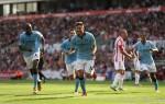 Soccer - Barclays Premier League - Stoke City v Manchester City - Britannia Stadium