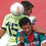 Europa League: Maritimo 0-0 Newcastle – Second-String Magpies Fail To Spark In Portugal (Photos & Highlights)