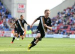 Soccer - Barclays Premier League - Wigan Athletic v Fulham - DW Stadium