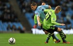 Soccer - Capital One Cup - Third Round - Manchester City v Aston Villa - Etihad Stadium