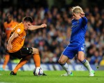 Soccer - Capital One Cup - Third Round - Chelsea v Wolverhampton Wanderers - Stamford Bridge